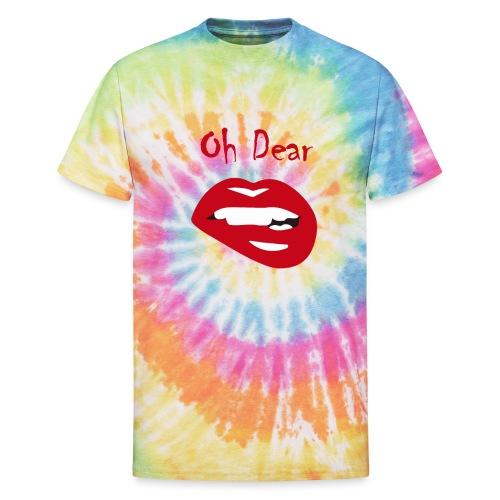 Oh Dear - Unisex Tie Dye T-Shirt