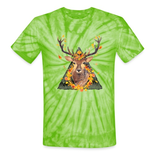 The Spirit of the Forest - Unisex Tie Dye T-Shirt