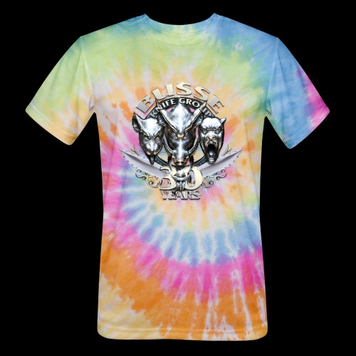 Busse Knife Group Logo - Unisex Tie Dye T-Shirt