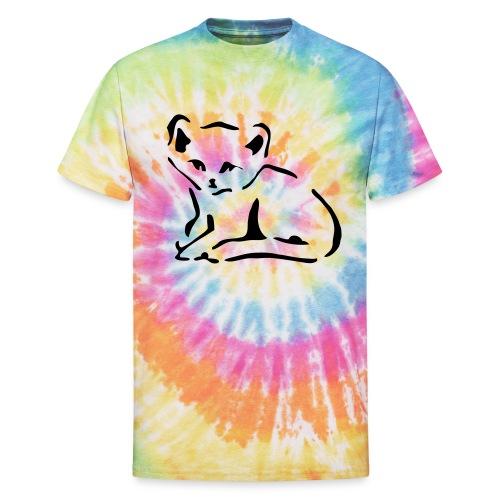 Kitty Cat - Unisex Tie Dye T-Shirt