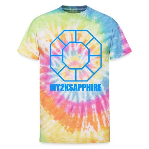 Unisex Blue Sapphire Hoodie - Unisex Tie Dye T-Shirt
