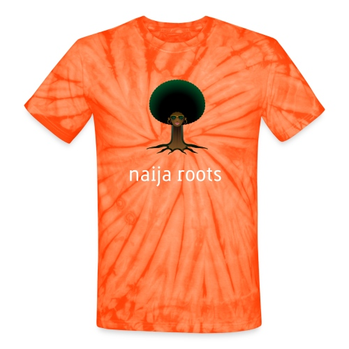 naijaroots - Unisex Tie Dye T-Shirt