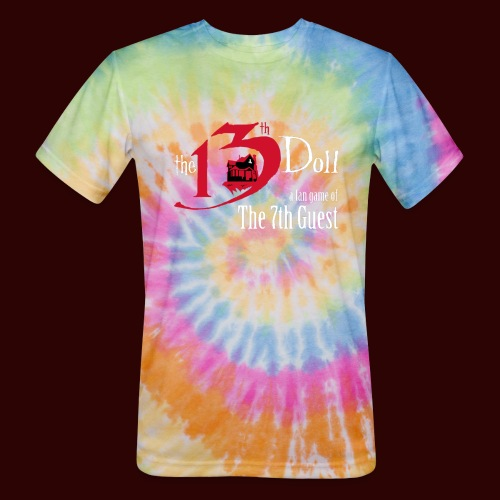 The 13th Doll Logo - Unisex Tie Dye T-Shirt