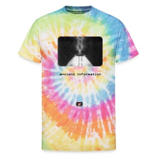 'Ancient Information' - Unisex Tie Dye T-Shirt
