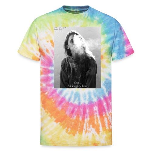Cr0ss Smoke drop - Unisex Tie Dye T-Shirt