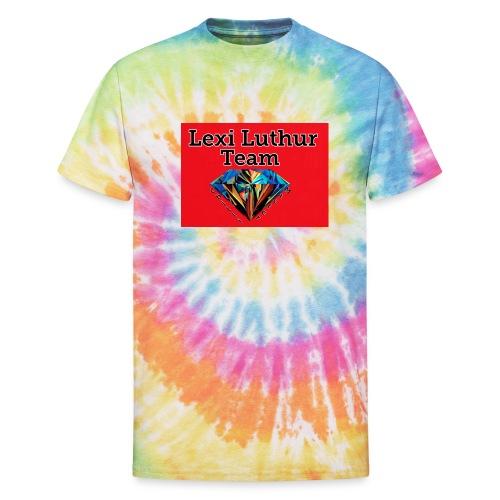 Mens Team Hoodie and Shirt - Unisex Tie Dye T-Shirt