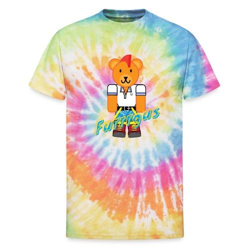 Skinhead Furrrgus - Unisex Tie Dye T-Shirt