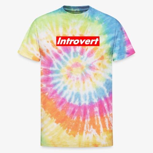 Introvert - Unisex Tie Dye T-Shirt