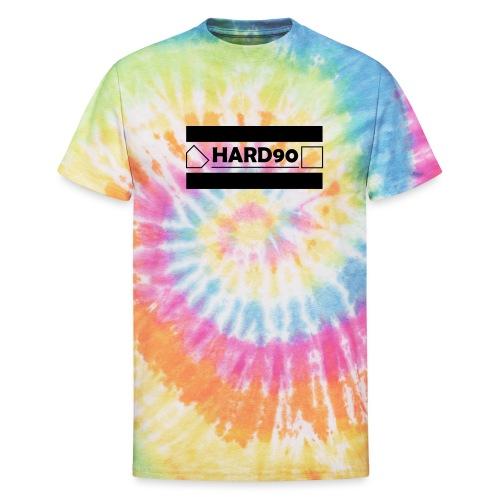 Hard 90 Logo - Unisex Tie Dye T-Shirt