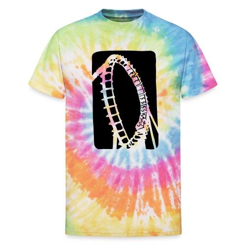 Roller Coaster - Unisex Tie Dye T-Shirt
