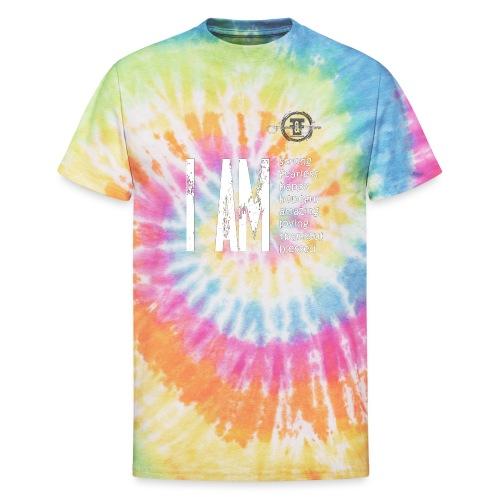 I AM ... Feminine and Fierce - Unisex Tie Dye T-Shirt