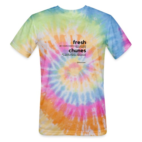 Clothing for All Urban Occasions (Blk) - Unisex Tie Dye T-Shirt