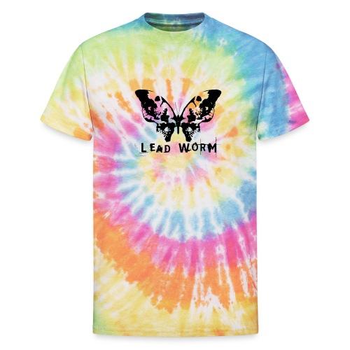 Lead Worm - logo - Unisex Tie Dye T-Shirt