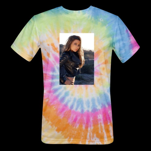 Rebecca Grant tuff and sexy - Unisex Tie Dye T-Shirt