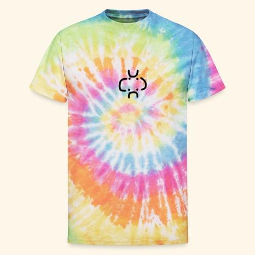 4 Visages classic design - Unisex Tie Dye T-Shirt