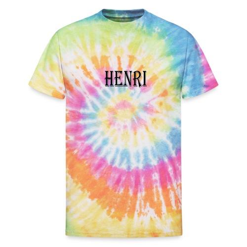 Henri - Unisex Tie Dye T-Shirt