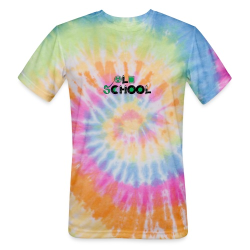 Old School Music - Unisex Tie Dye T-Shirt