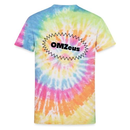 Tie Dye OMZeus - Unisex Tie Dye T-Shirt