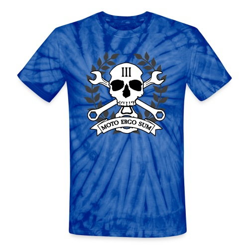 Moto Ergo Sum - Unisex Tie Dye T-Shirt