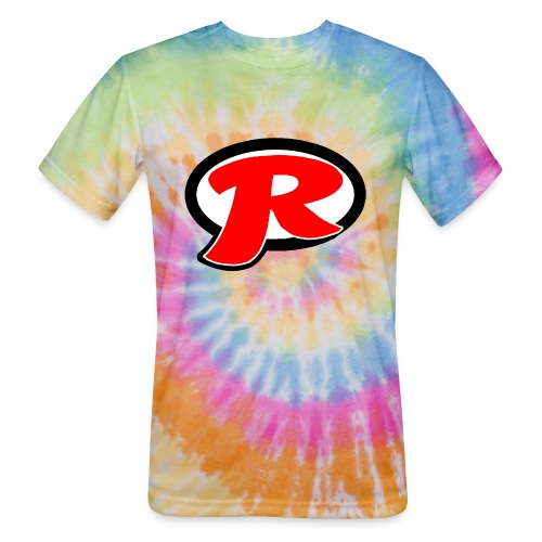 Review Everything + Logo - Unisex Tie Dye T-Shirt