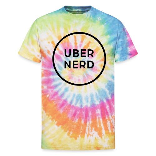uber nerd logo - Unisex Tie Dye T-Shirt