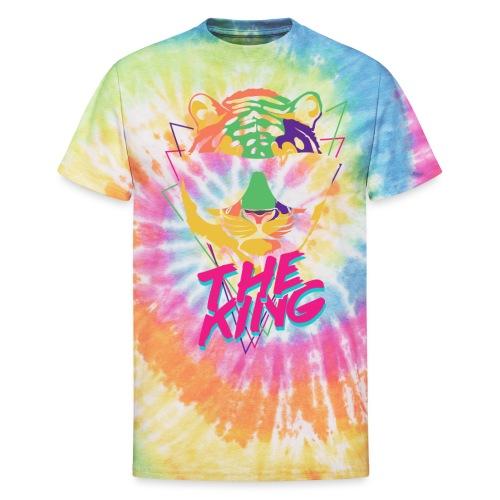 King Tiger - Unisex Tie Dye T-Shirt