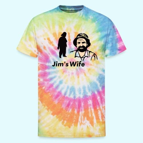 Jim's Wife - Unisex Tie Dye T-Shirt