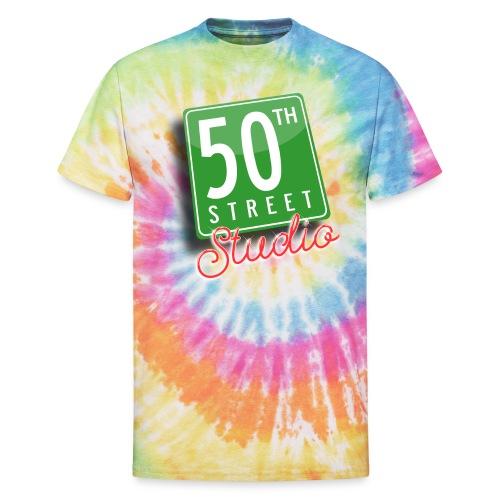50th Street Studio LOGO - Unisex Tie Dye T-Shirt
