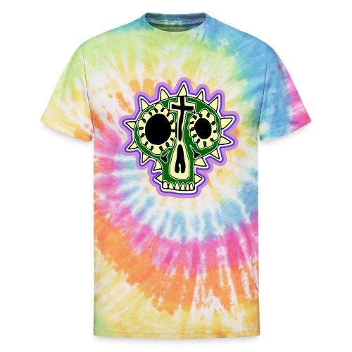 Hopey Día de Muertos - Unisex Tie Dye T-Shirt
