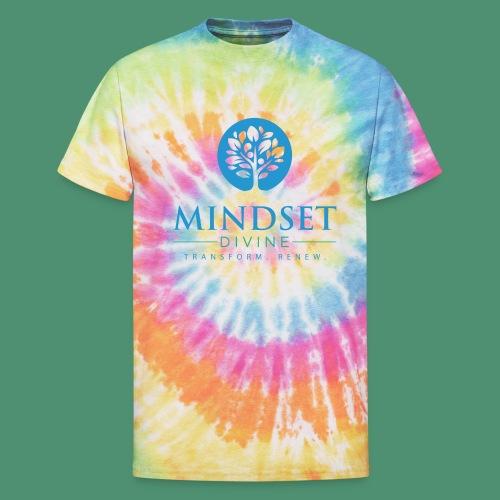 Mindset Divine logo 01 - Unisex Tie Dye T-Shirt