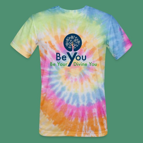 Be Your Divine You - Unisex Tie Dye T-Shirt