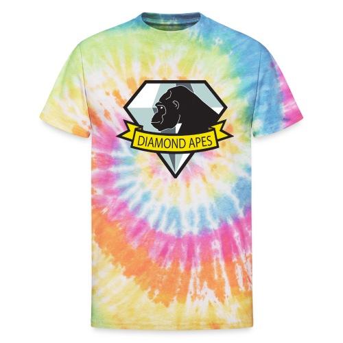 diamondape - Unisex Tie Dye T-Shirt
