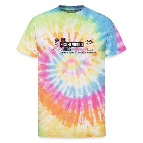 The Buster Mungus Diaries - Unisex Tie Dye T-Shirt