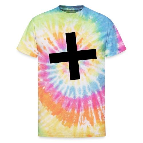 Plus Brandmark Black - Unisex Tie Dye T-Shirt