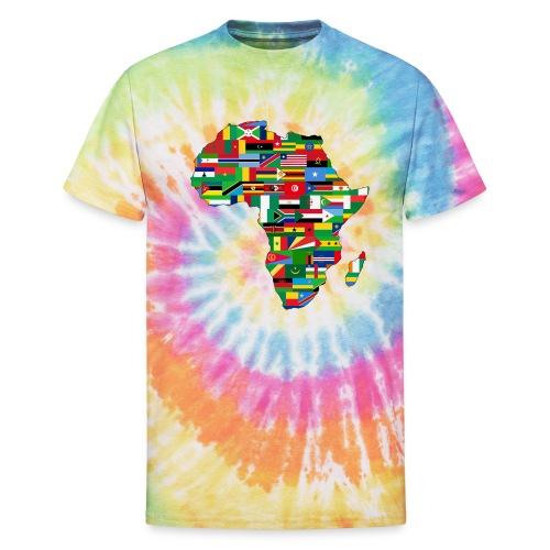 Motherland Africa - Unisex Tie Dye T-Shirt