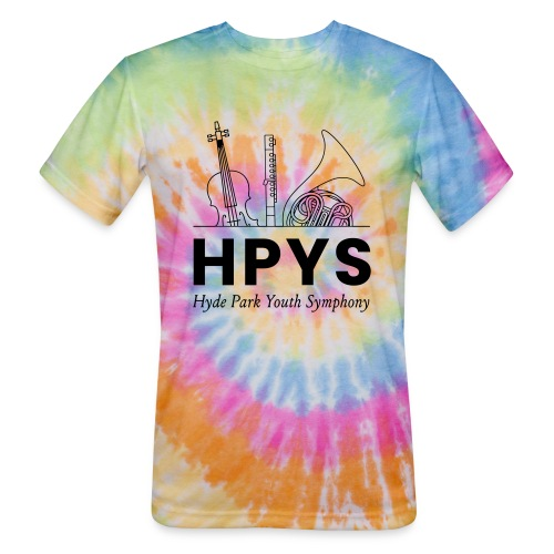 HPYS - Unisex Tie Dye T-Shirt