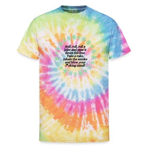 Roll On - Unisex Tie Dye T-Shirt