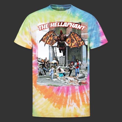 The Hellaphant Alternate Concept: Re-Issue - Unisex Tie Dye T-Shirt