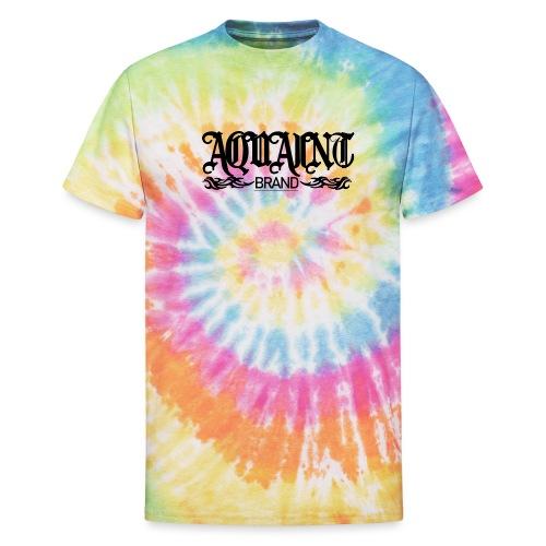 AQUAINT Logo - Unisex Tie Dye T-Shirt