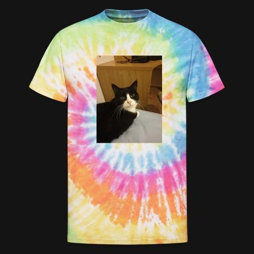 Gamer Cat 1 - Unisex Tie Dye T-Shirt