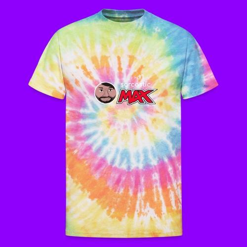 SarcasticMax cola beverage logo - Unisex Tie Dye T-Shirt