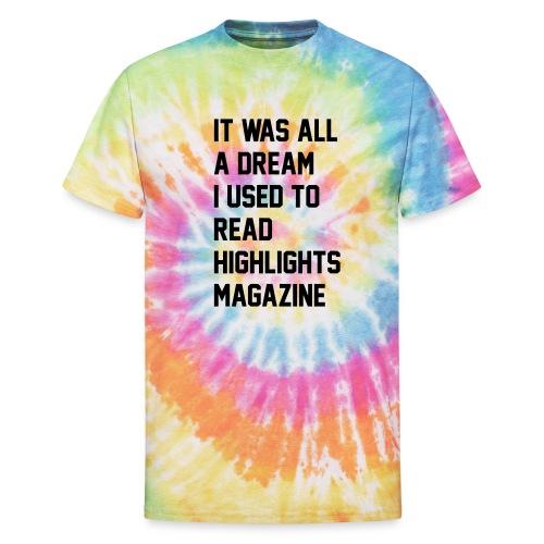 JUICY 1 - Unisex Tie Dye T-Shirt