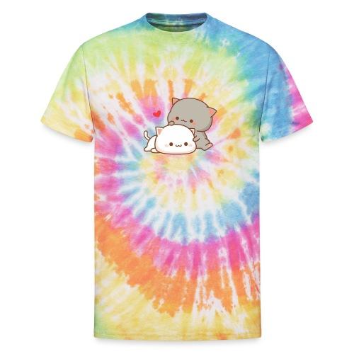Love Cats - Unisex Tie Dye T-Shirt