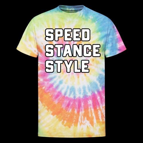Speed Stance Stlye BIG - Unisex Tie Dye T-Shirt