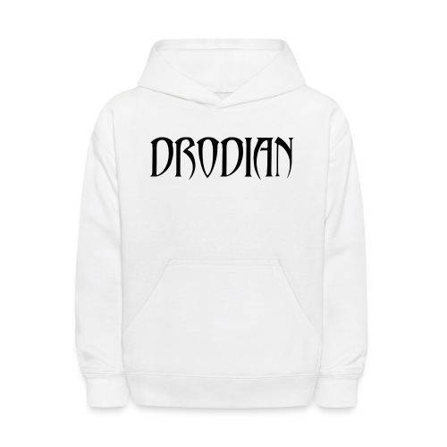 CLASSIC DRODIAN (BLACK LETTERS) - Kids' Hoodie