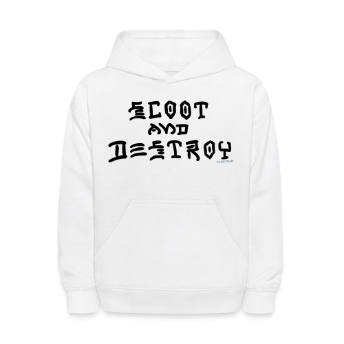Scoot and Destroy - Kids' Hoodie