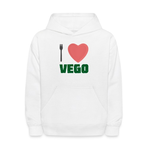 I love Vego - Clothes for vegetarians - Kids' Hoodie