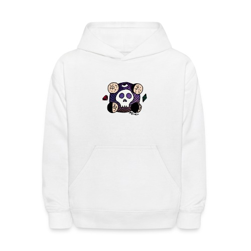 Moon Skull from Outer Space - Kids' Hoodie