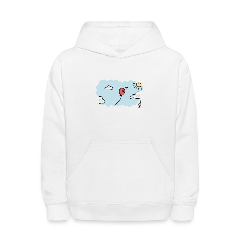 Balloon in Love - Kids' Hoodie
