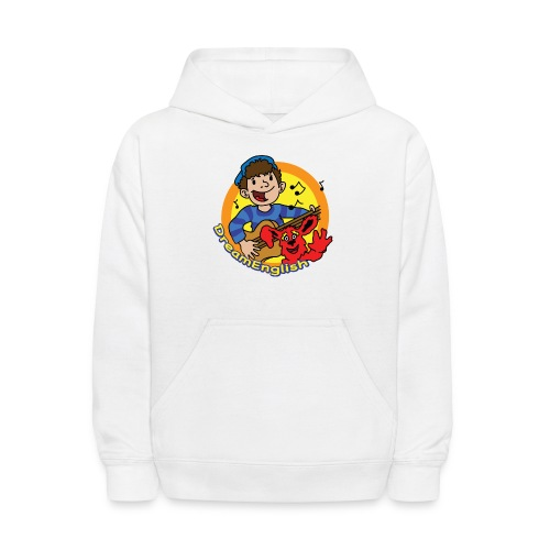 dreamenglishlogo-L - Kids' Hoodie